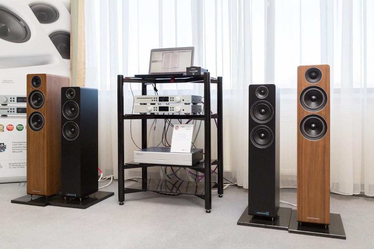 Acoustic Energy 109, 309 и Creek Audio